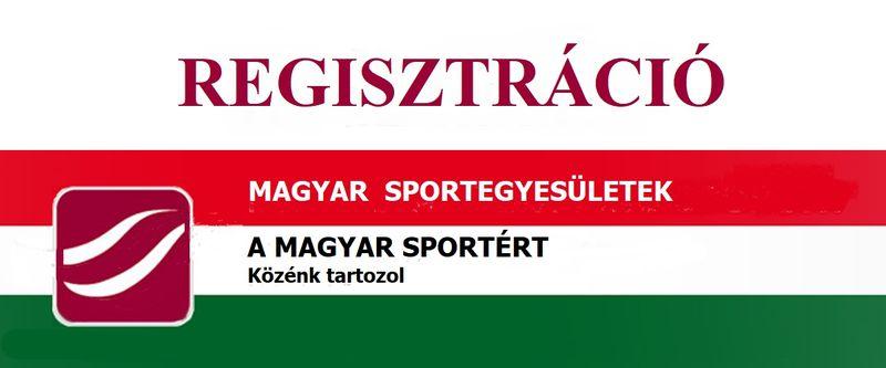 Sportklub regisztráció